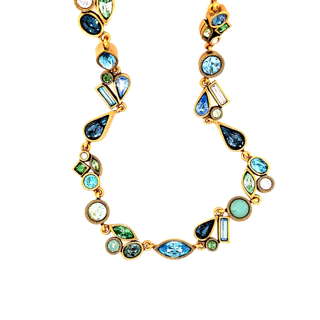 Ballet Russes Necklace in Gold, Zephyr
