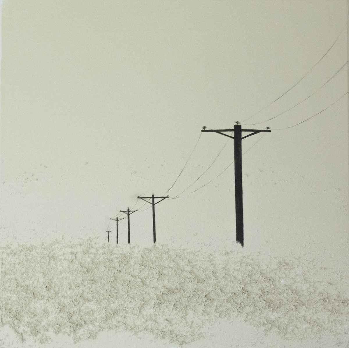 Power Lines by Ms. Raquel Fornasaro - Masterpiece Online