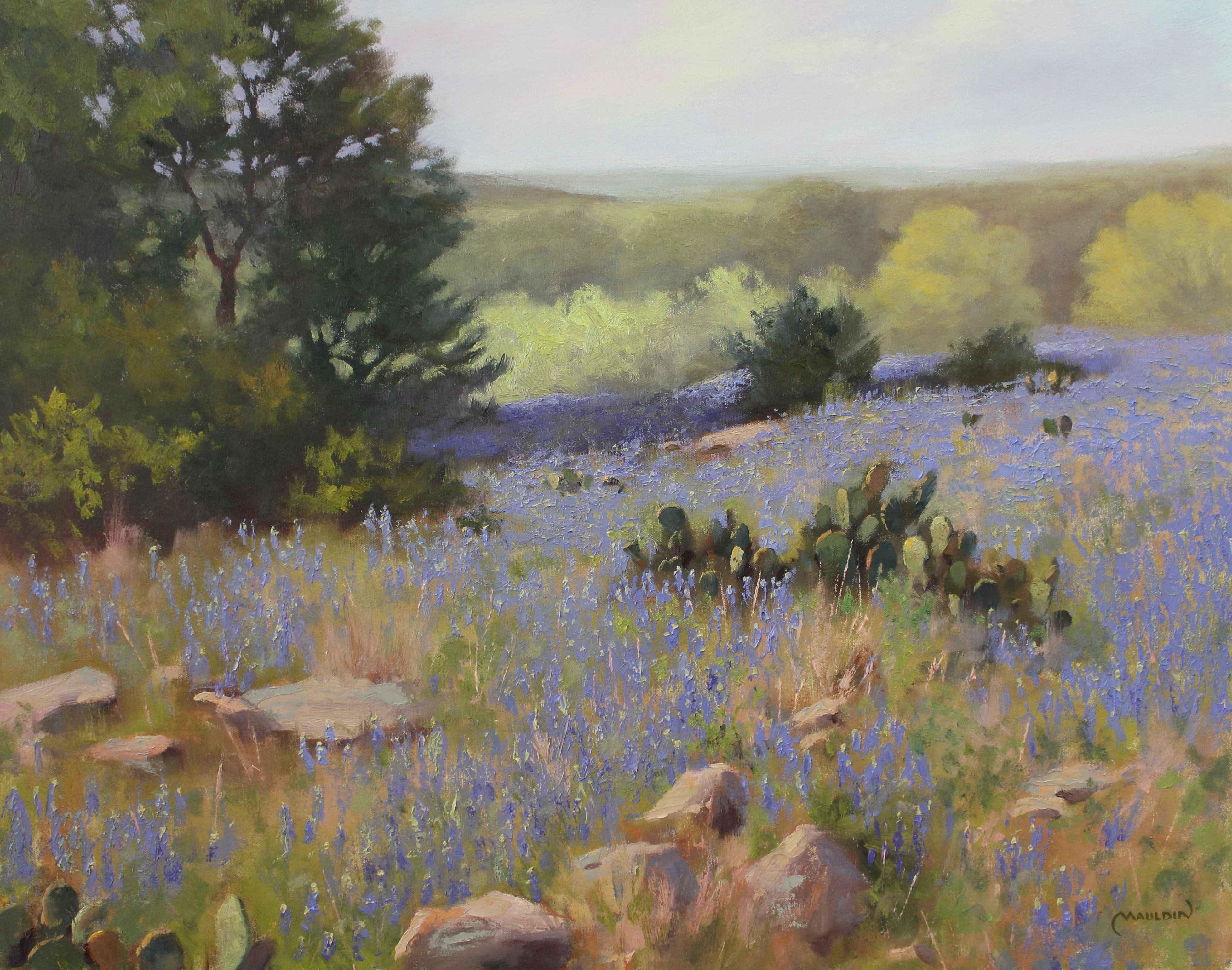 Blanket of Blue by  Chuck Mauldin - Masterpiece Online