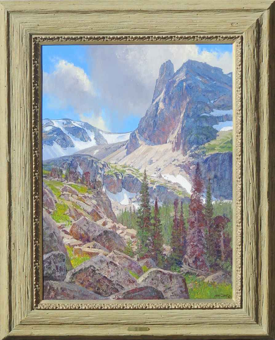 Notchtop Mountain by  Lanny Grant - Masterpiece Online