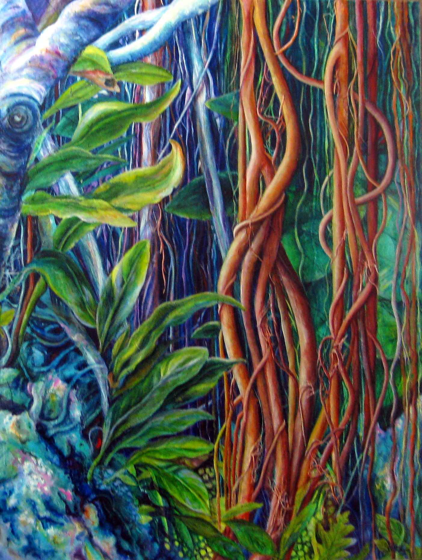 Dancing Vines Androme... by Mrs Sonia Tuleja - Masterpiece Online