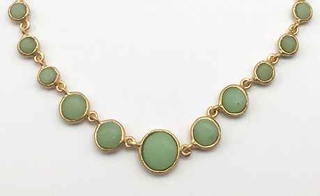 Small Round Multi Necklace 17