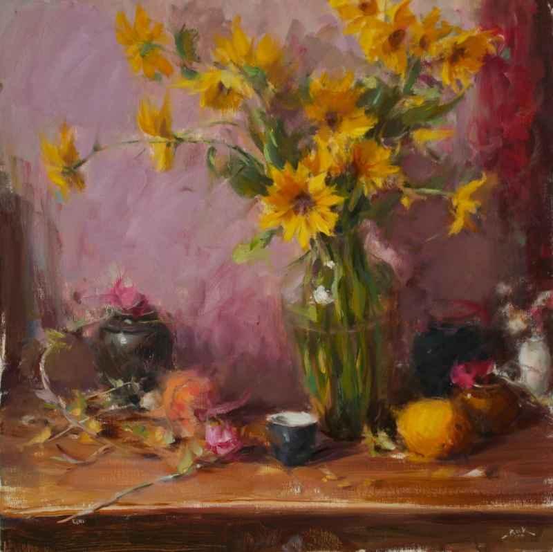 Sunflowers by  Dan Beck - Masterpiece Online