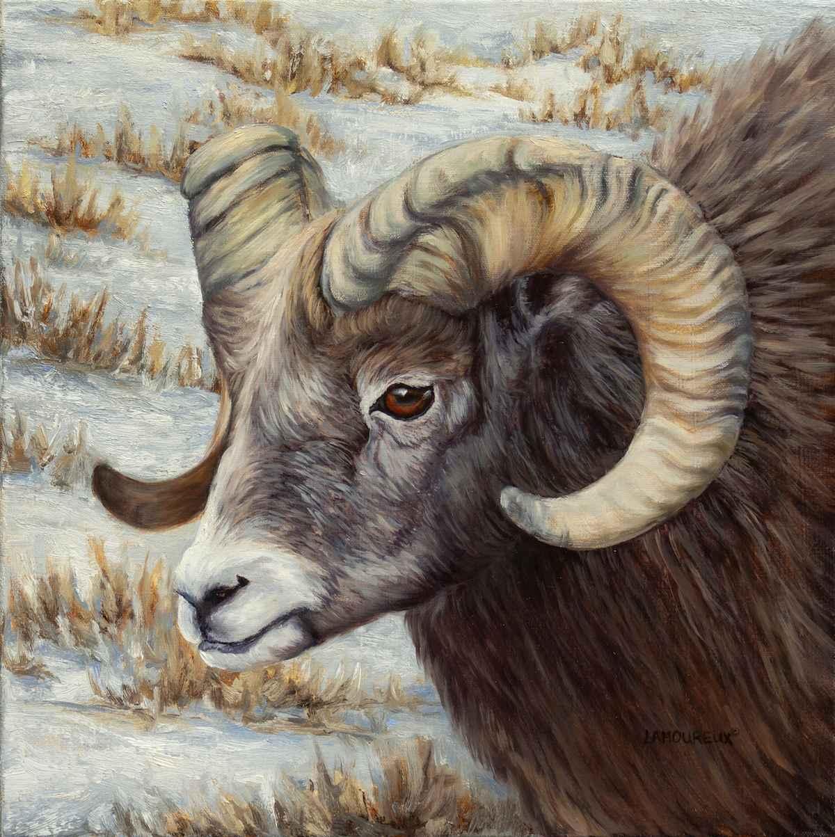 Bighorn by  Julie Lamoureux - Masterpiece Online