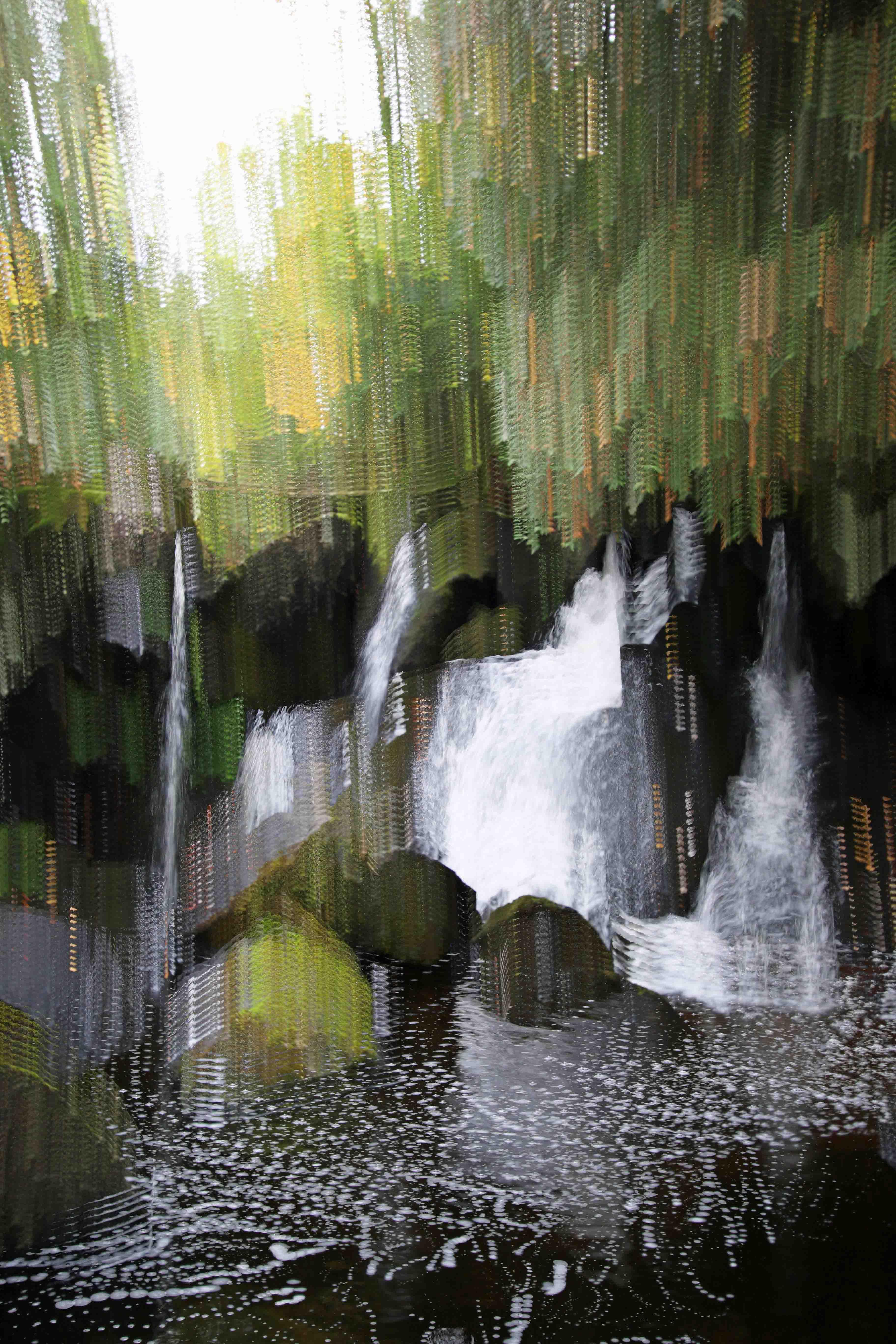 Spring Brook Falls by  Mark Weller - Masterpiece Online