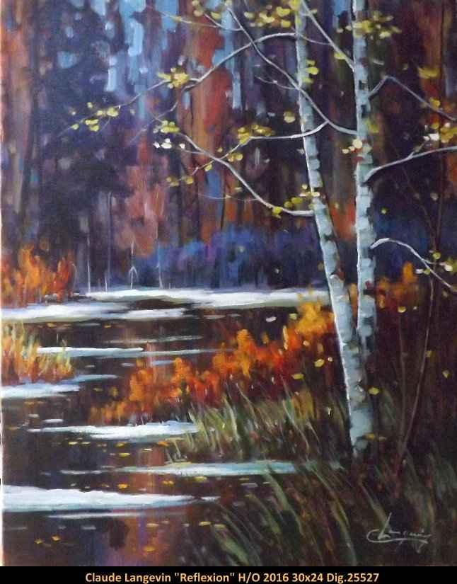 Reflexion 1025527 by  Claude Langevin - Masterpiece Online