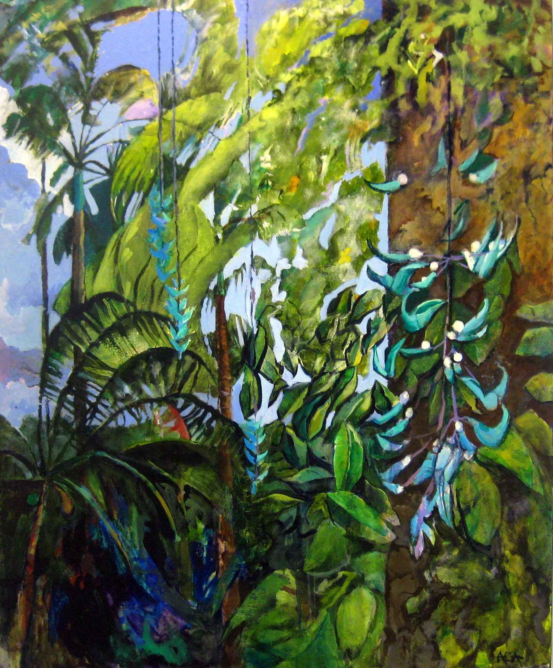 Jade Vine by Ms Alison Chapman-Andrews - Masterpiece Online