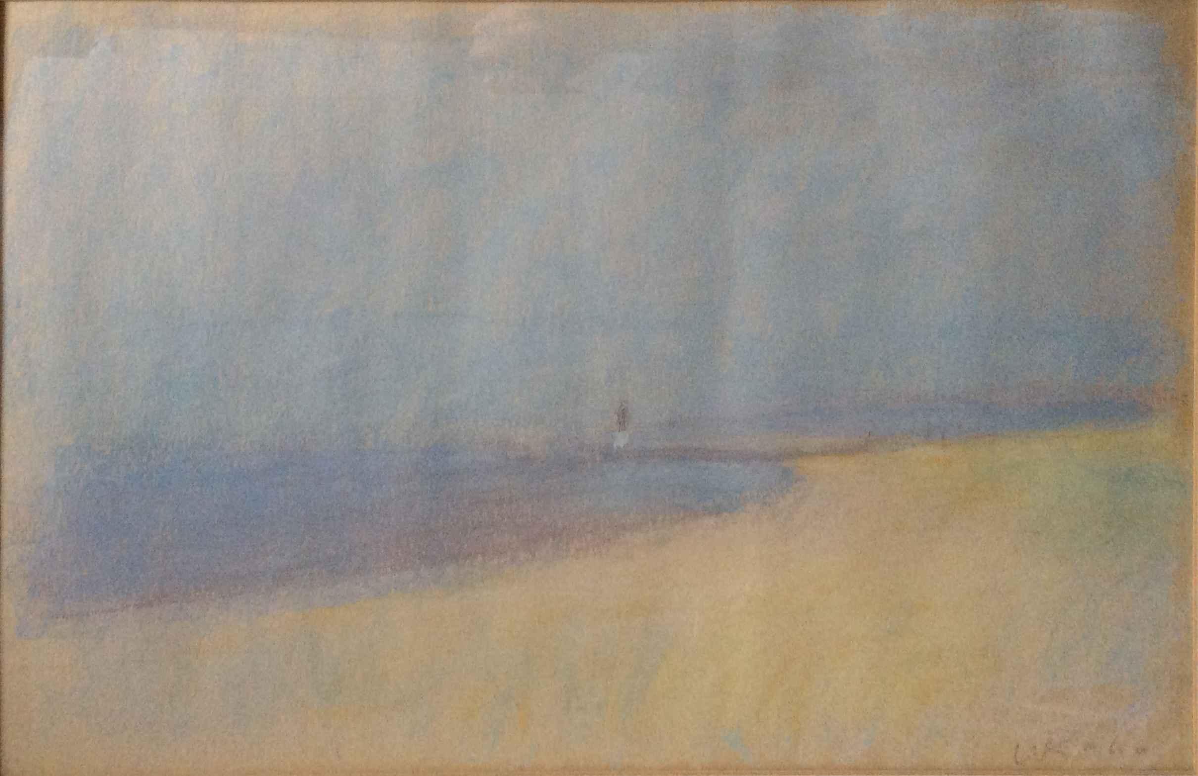 Shore Landscape by  Wolf Kahn - Masterpiece Online