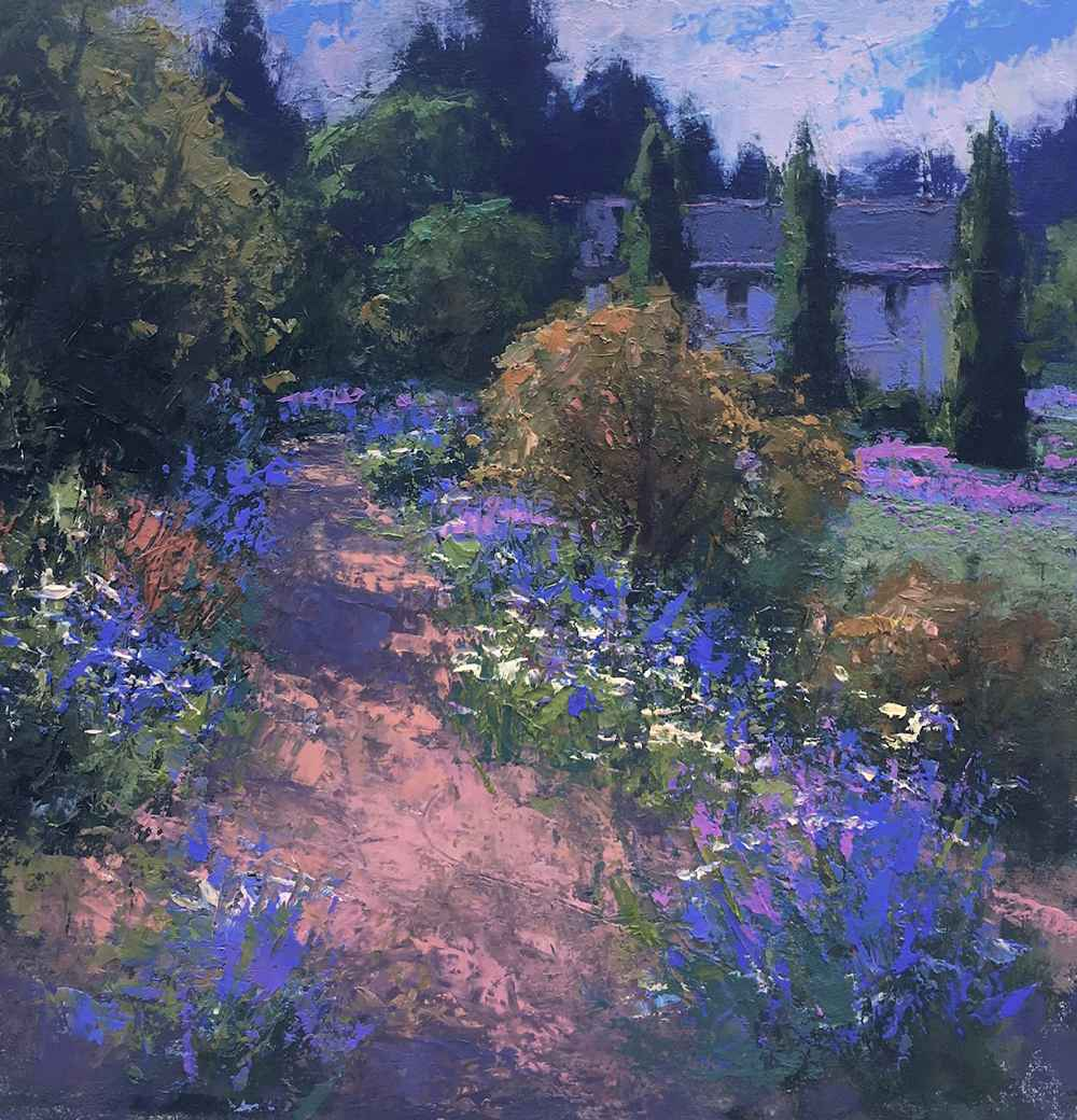 Garden Path  by  Romona Youngquist