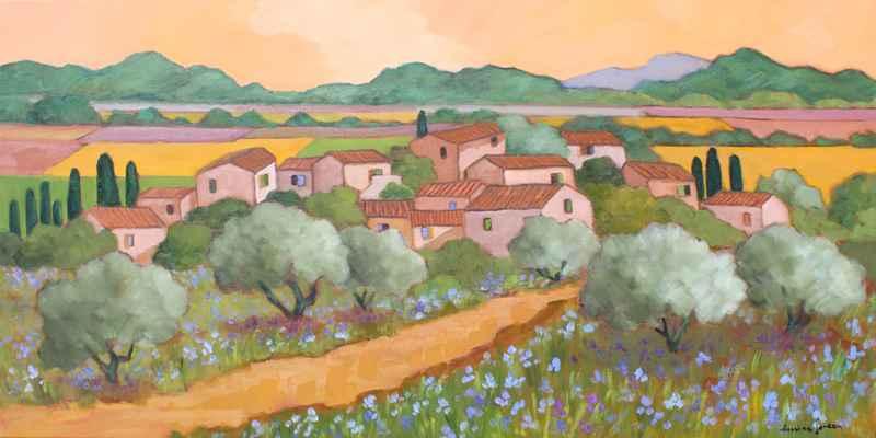 Les Iris Bleus by  Lorraine  Jordan - Masterpiece Online