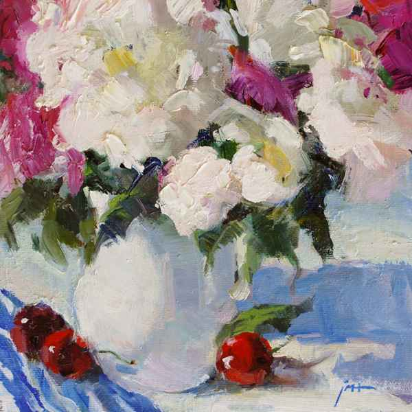 On The Breakfast Table  by  Julee M. Hutchison - Masterpiece Online