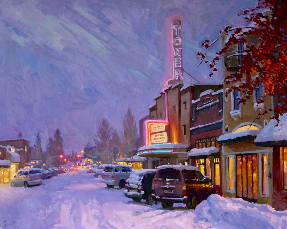 Snow and a Show  by  Jennifer Diehl