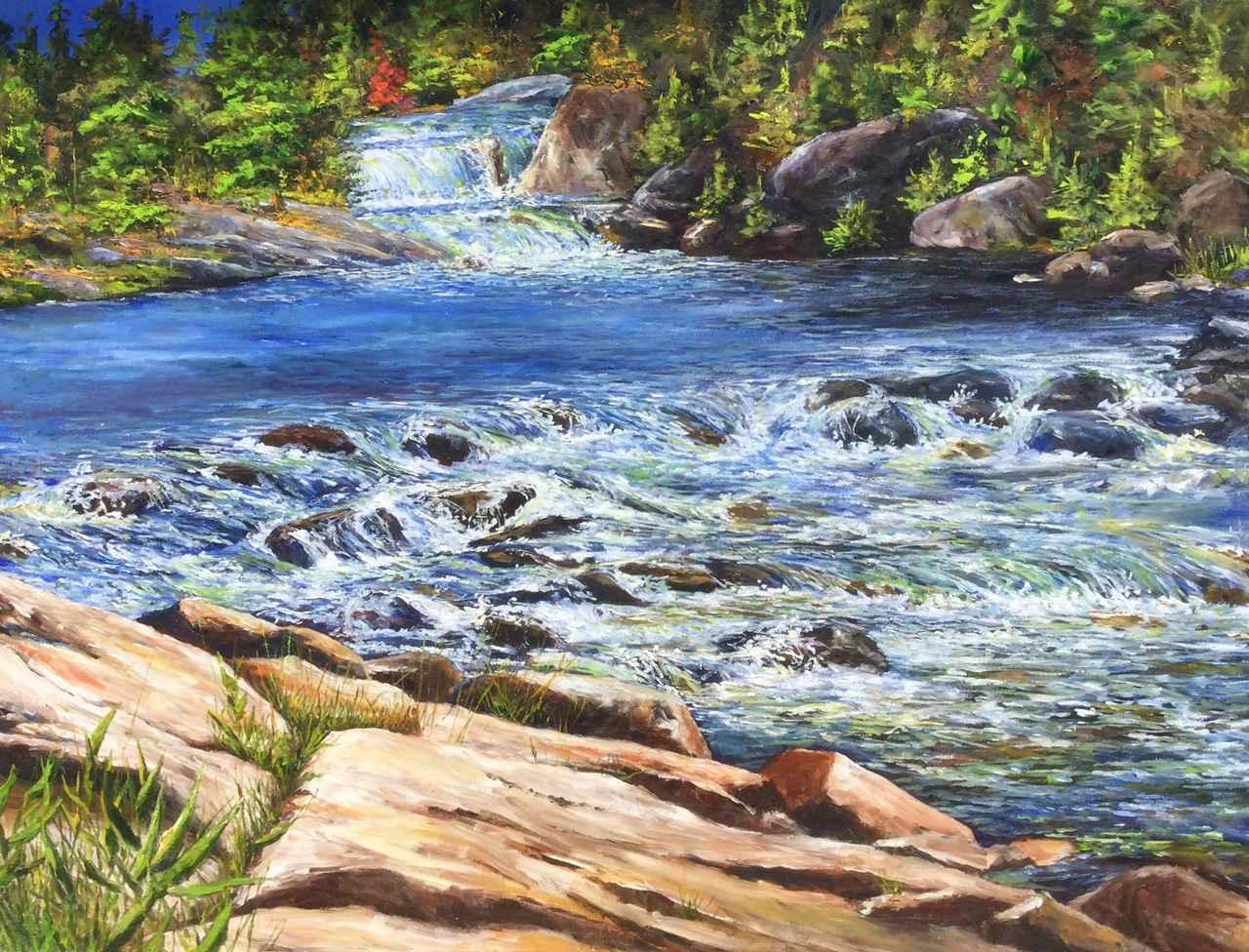 Northern River by  Jamie MacLean - Masterpiece Online