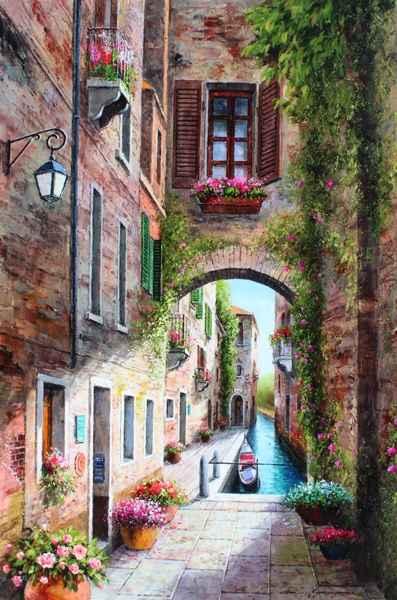 Venice Street by  Soon Ju Choi  - Masterpiece Online