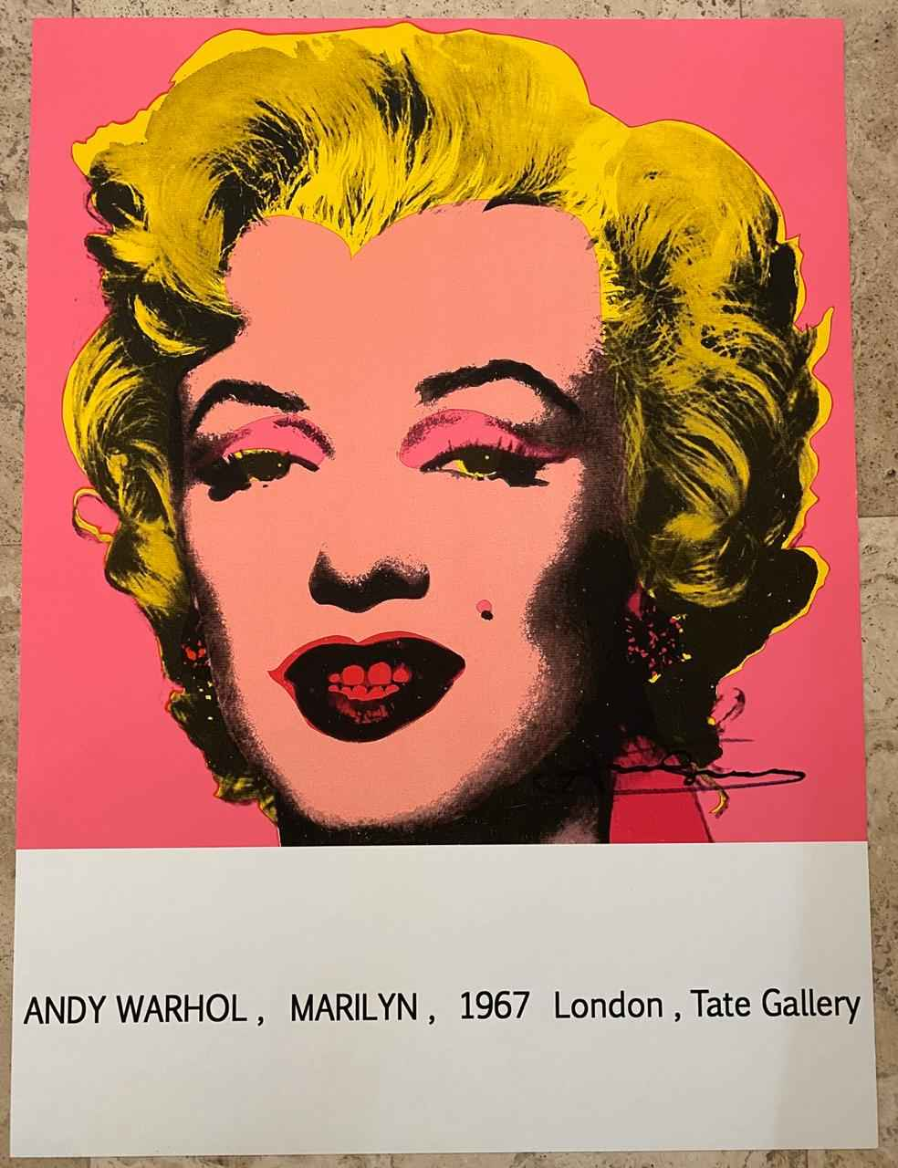 MARILYN MONROE 1967 T... by   Warhol, Andy - Masterpiece Online