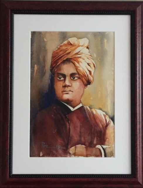 Vivekananda by  Pintu Sengupta - Masterpiece Online