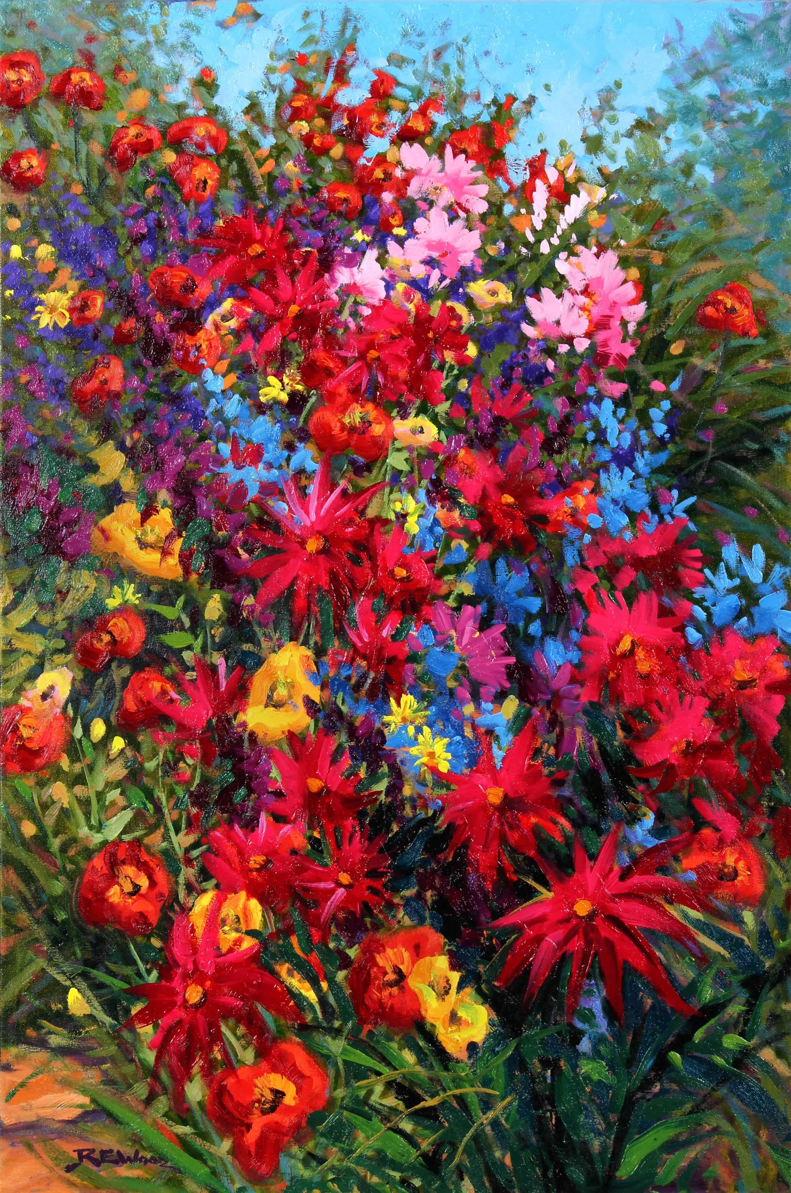 In the Garden  by  Robert E. Wood