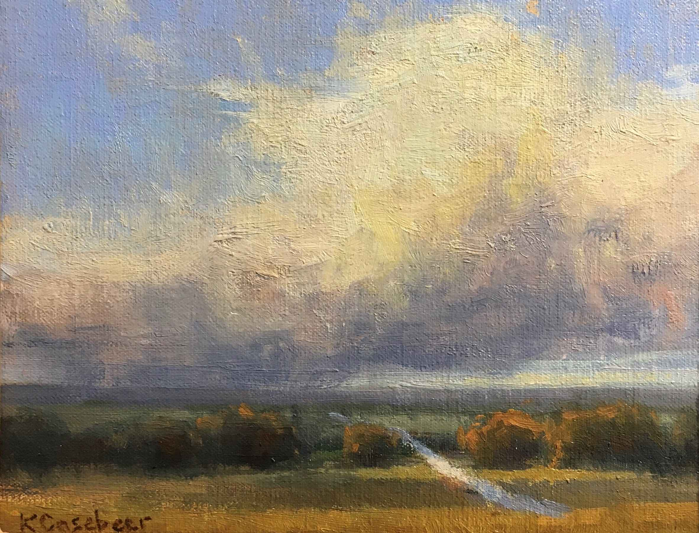 Hanging Cloud by  Kim Casebeer - Masterpiece Online