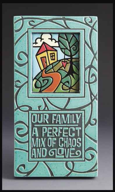 Our Family, Chaos & Love Tile