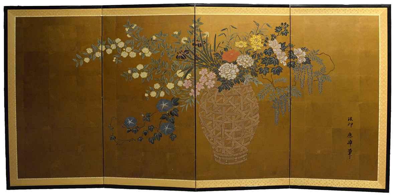 Flowers in Vase by  Shuho Kawakatsu - Masterpiece Online