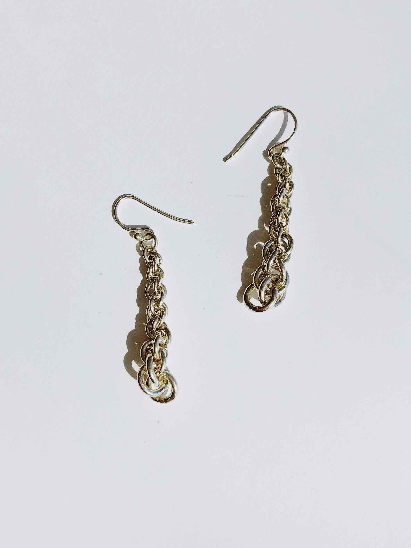 Silver Jens Pend Earr... by  Nancy Neeb - Masterpiece Online