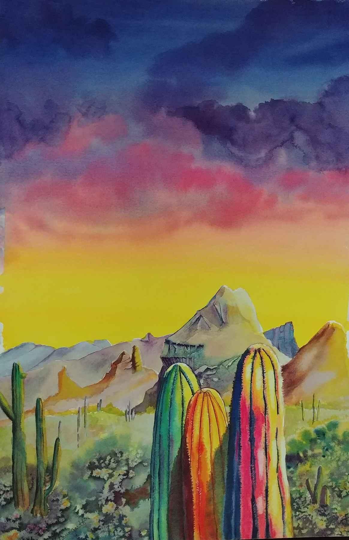 Sonoran Sky by  Karen Brungardt - Masterpiece Online