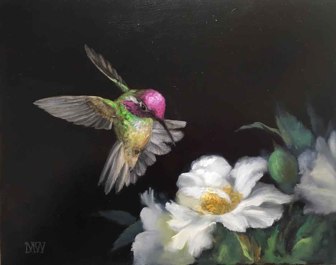 Shimming Flight by  Mary Kay  West  - Masterpiece Online