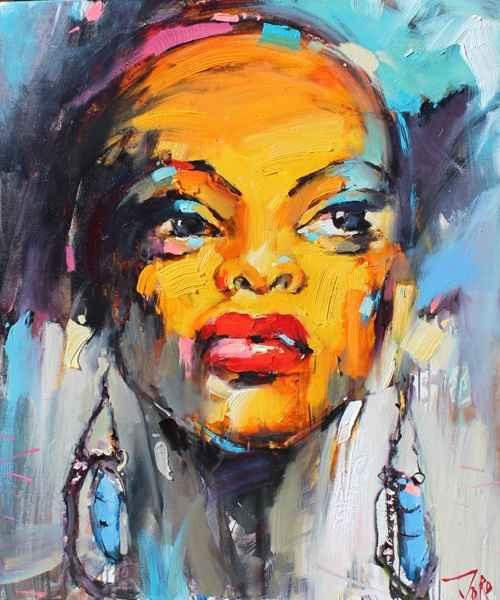 The Colors of Africa 1 by  Georgi Kolarov - Masterpiece Online