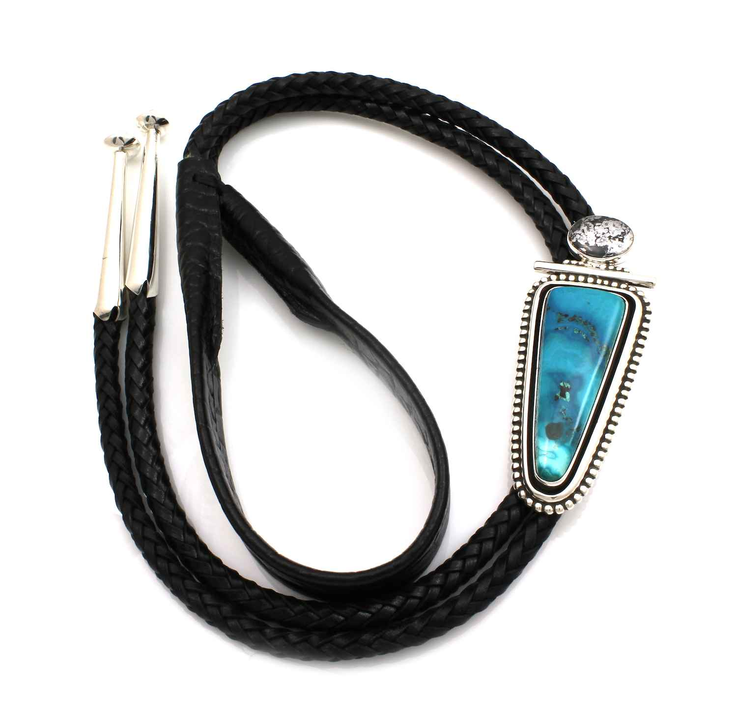 Chrysocolla Bolo Tie by  Ray Tracey - Masterpiece Online