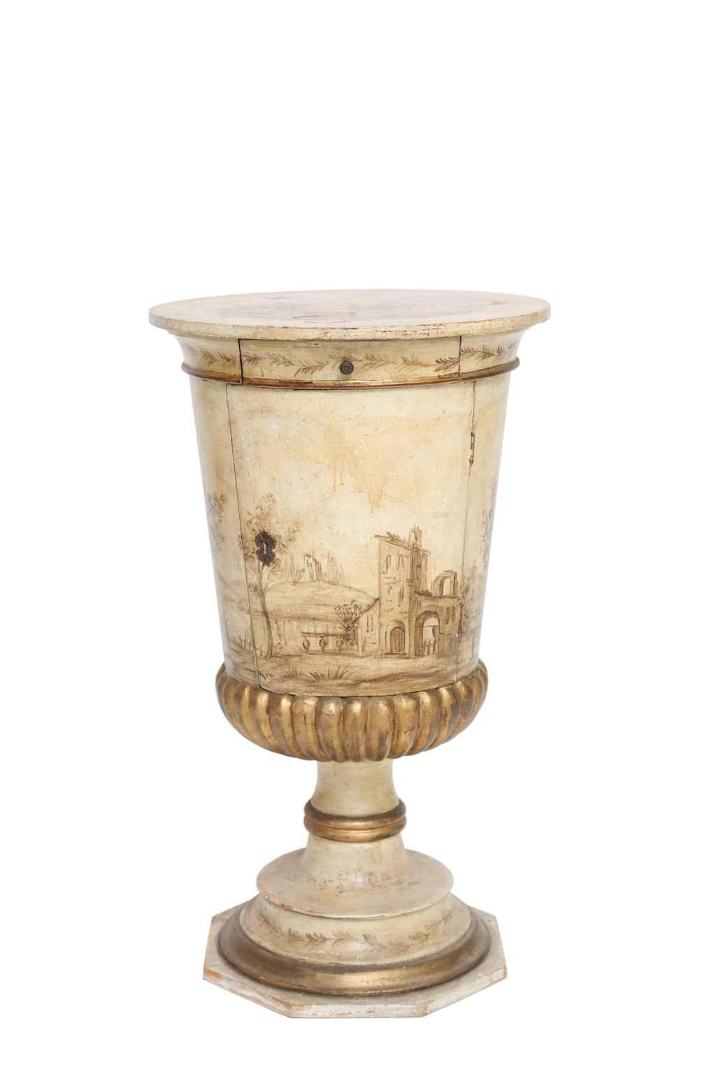 Painted Venetian Pot ... by  Italian  - Masterpiece Online
