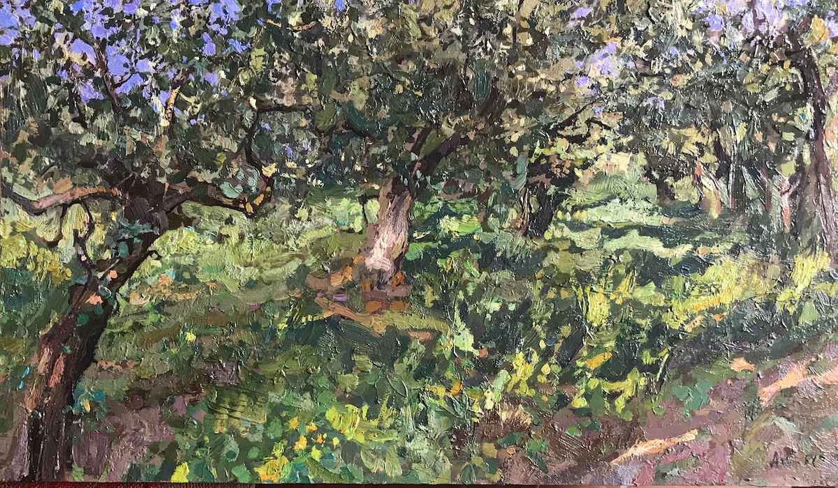 Olive Grove by  Daud Akhriev - Masterpiece Online