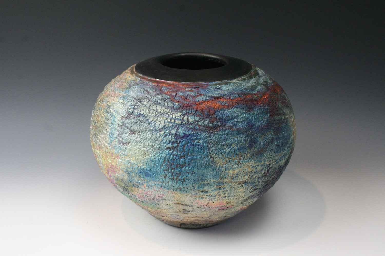 Raku 3648 by  Penny Berglund - Masterpiece Online