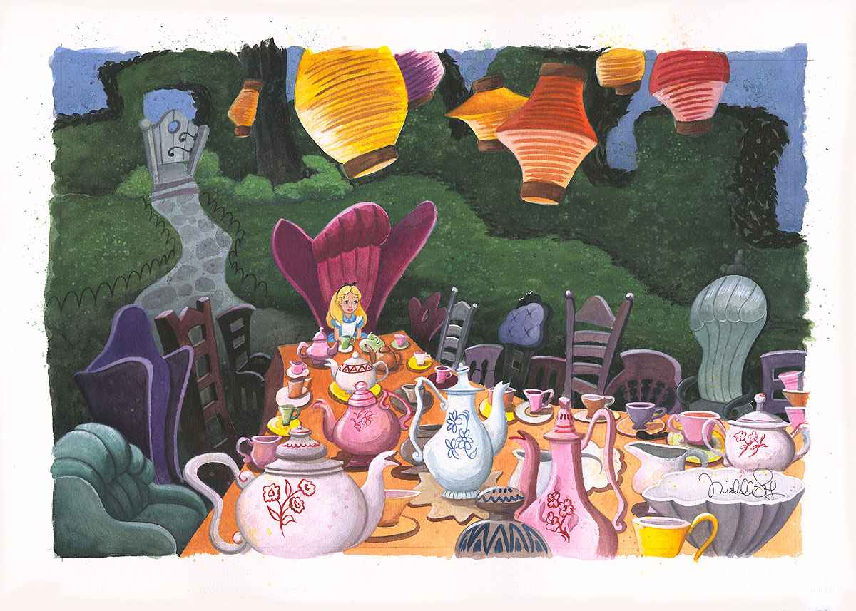 Tea With Alice by  Michelle St. Laurent - Masterpiece Online