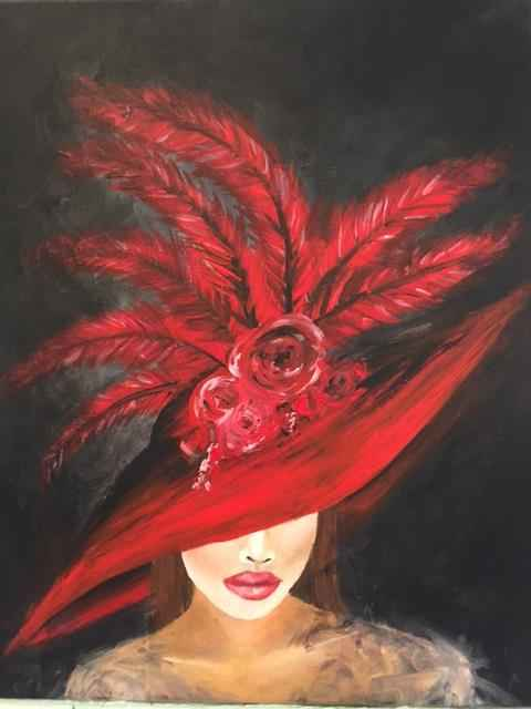 Red Feathers by  Boston Logan - Masterpiece Online