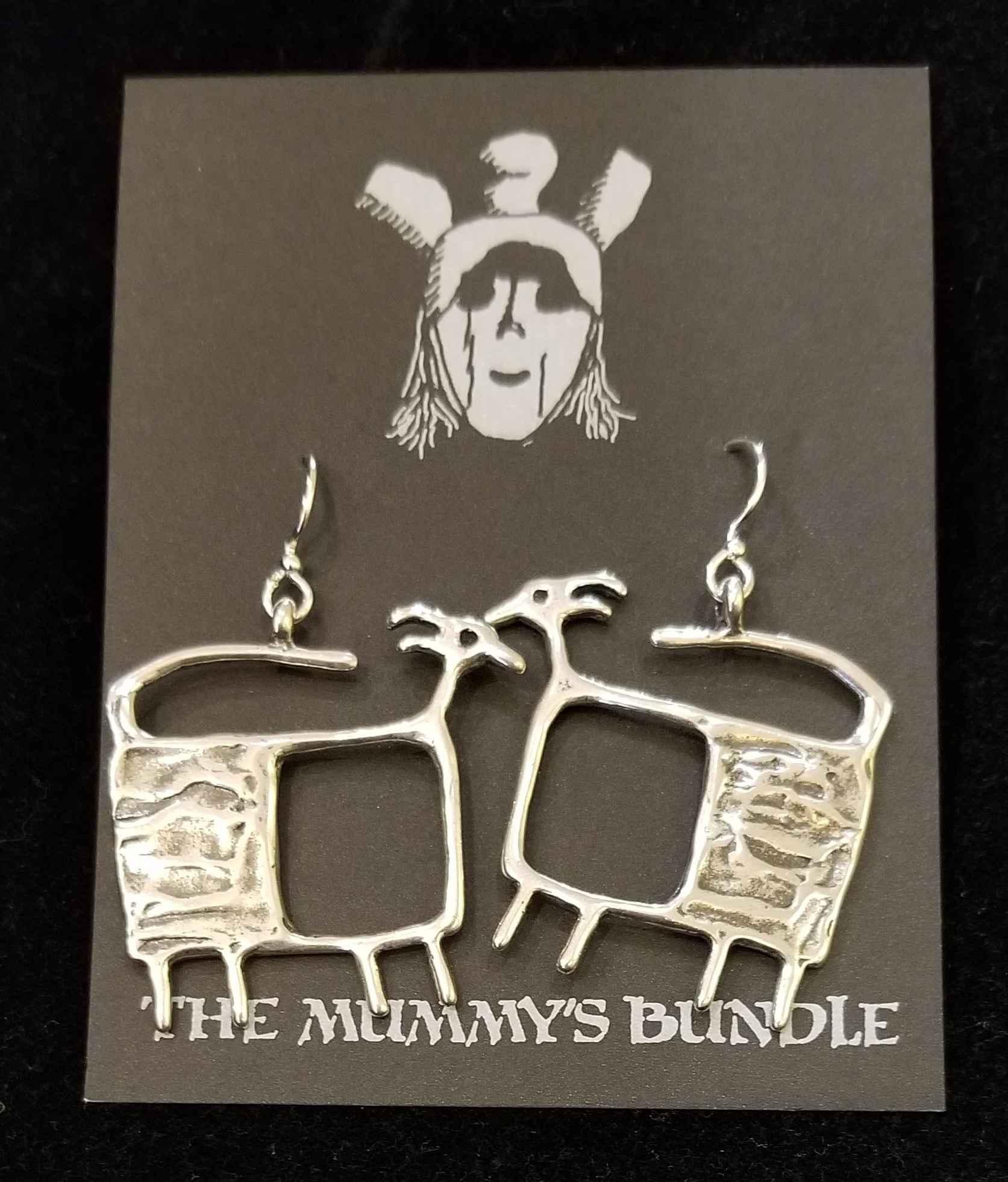 TV Goat Silver Earrin... by  Mummy's Bundle - Masterpiece Online