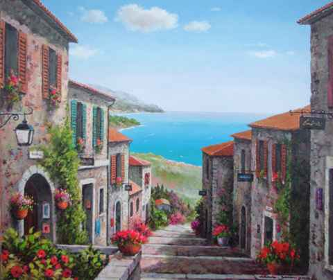 Sea View by  Soon Ju Choi  - Masterpiece Online