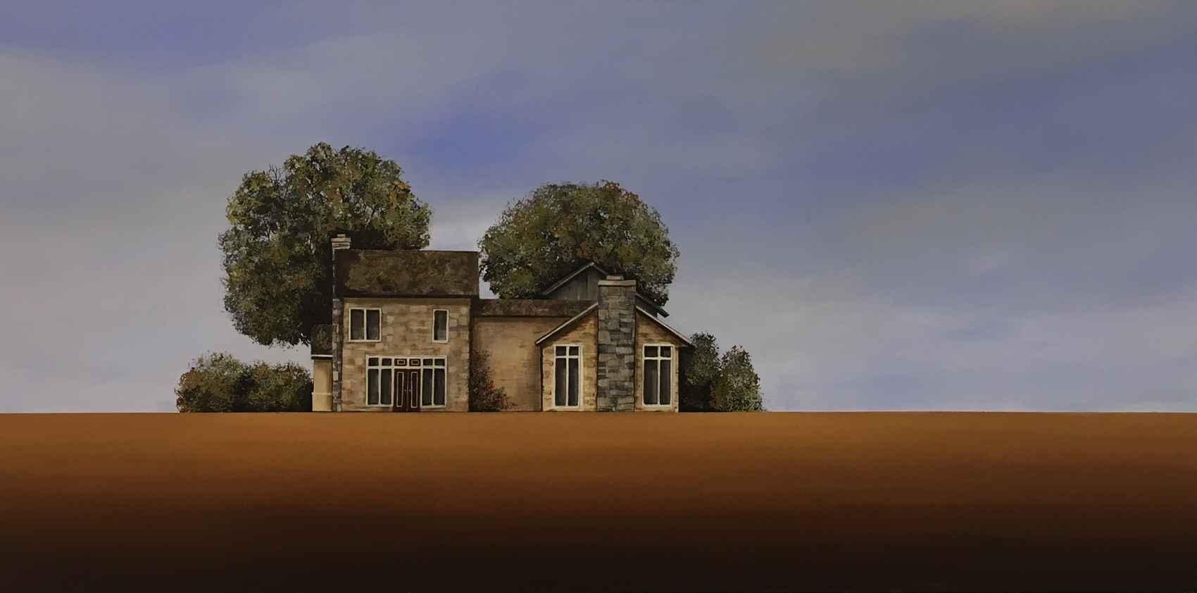 Stone Cottage by  Janet Liesemer - Masterpiece Online