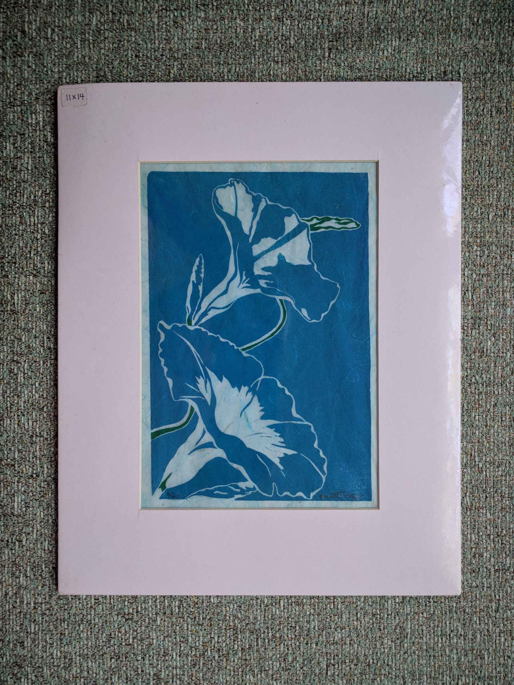 Morning Glory (matted) by  Katherine Grey - Masterpiece Online