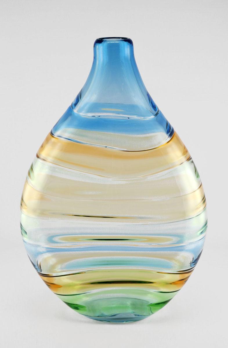 Ebb & Flow/Aqua, Gree... by  Cal Breed - Masterpiece Online