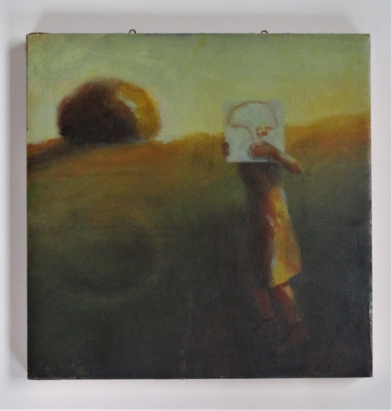 Untitled (girl behind... by  Trudy Parkinson - Masterpiece Online
