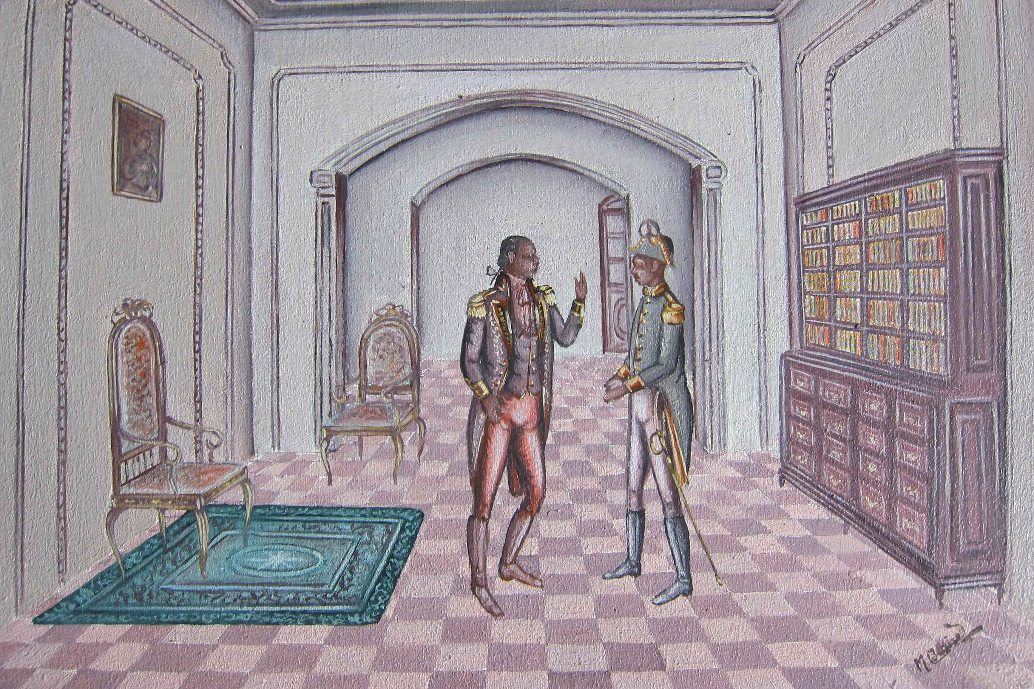 Toussaint et son offi... by  Serge Moleon BLAISE - Masterpiece Online
