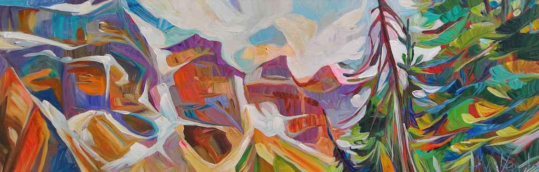 Walk Around Moraine by  Julia Veenstra - Masterpiece Online