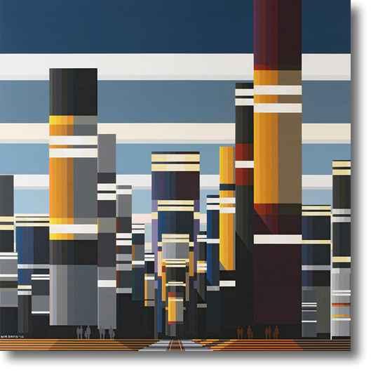 Burlington Northern S... by Mr. Malcolm Montague Davis - Masterpiece Online