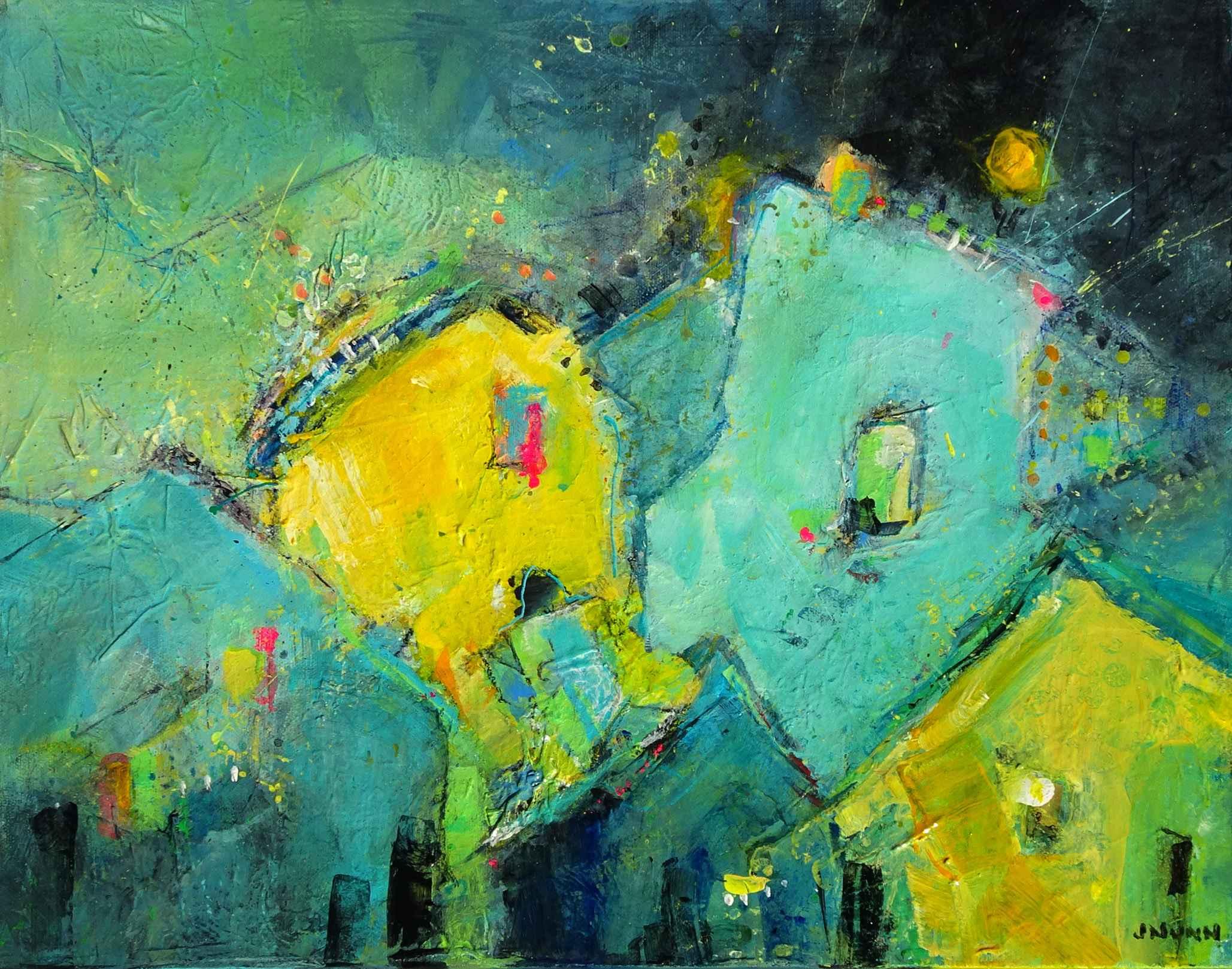 Welcome to the Neighb...  by  Jonlee Nunn