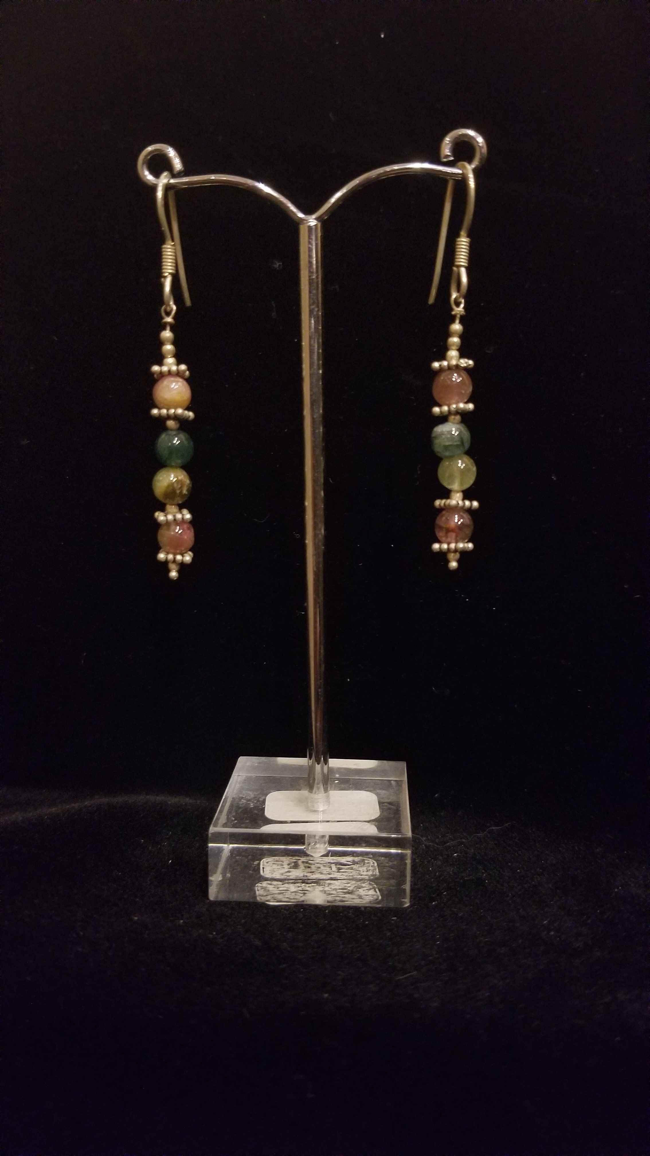 Earrings - Multi Gems... by  Gallery Pieces - Masterpiece Online