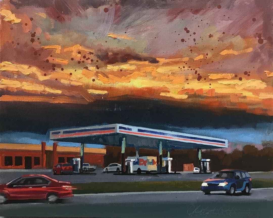 Wild airport gas by  Christopher Peterson - Masterpiece Online