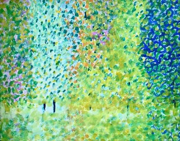 Trees by  Mary Theisen - Helm - Masterpiece Online