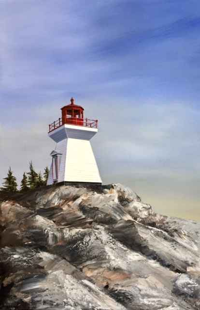 Killarney Lighthouse by  Janet Liesemer - Masterpiece Online
