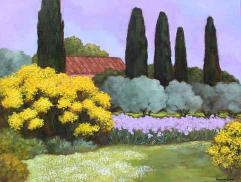 La Petite Maison Jaun... by  Lorraine  Jordan - Masterpiece Online