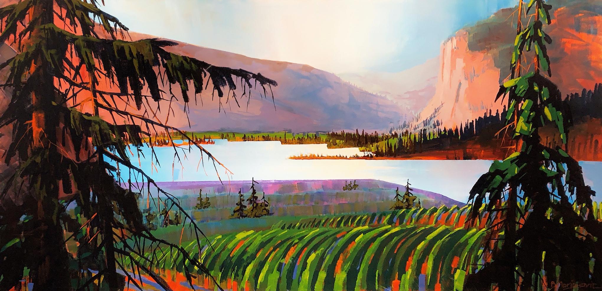 Blue Mountains Winery... by  Branko Marjanovic - Masterpiece Online